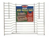 Melissa & Doug Deluxe Wire Puzzle Rack, New, Free Shipping on sale