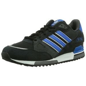 ec2da30f6c2eb ADIDAS ORIGINALS MEN S ZX 750 UK SIZE 7-12 BLACK TRAINERS SHOES ...