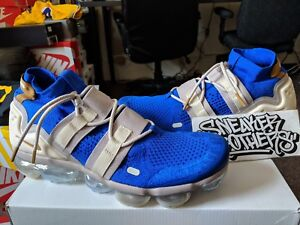 6fd1c48d81 Nike Air Vapormax Flyknit Utility Racer Blue Bronze Moon Deep Royal ...