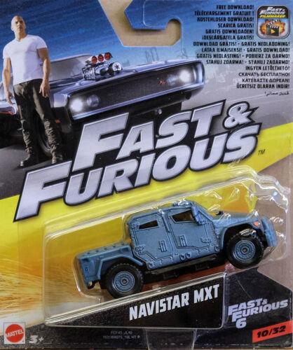 Navistar MXT Fast /& Furious 1:55 Mattel FCF45 FCF35 wie Hot Wheels