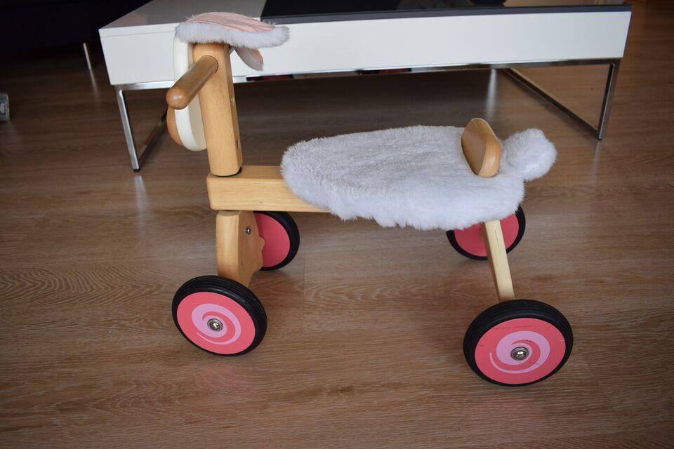 Unisex børnecykel, firhjulet