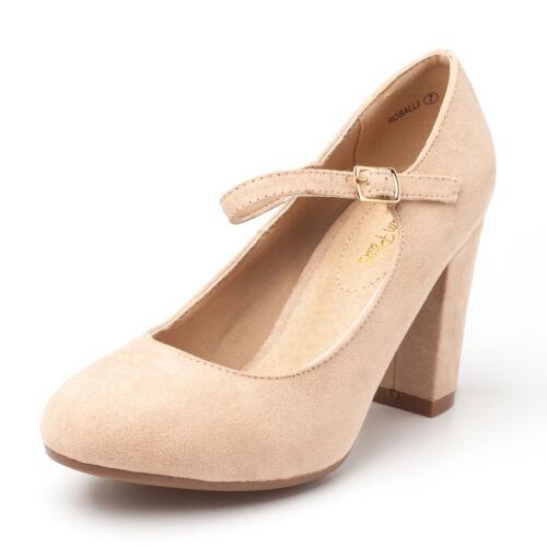 DREAM PAIRS Gloria Women/'s Classic Versatile Stiletto Dress Platform Pumps Heels