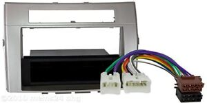 Radio-Blende-fuer-TOYOTA-Corolla-Verso-DIN-Rahmen-Adapter-Auto-Radio-SET-Kabel
