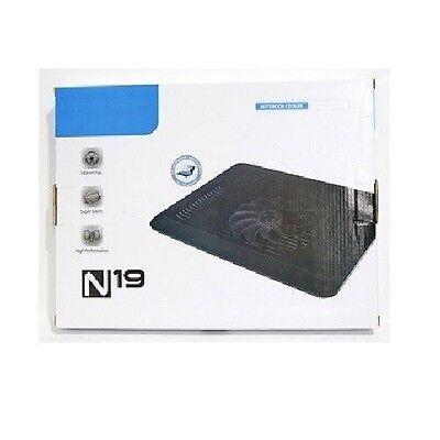 40 Pcs N19 140mm Fan Super Silent High Performance USB Cooler Stand for Laptop
