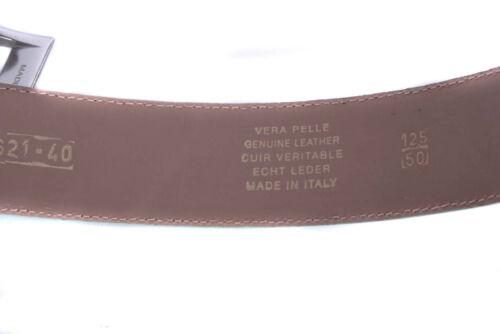 XL 105 cm Echtleder Gürtel Ledergürtel Belt Italy Gr