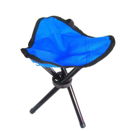 Mini Portable Outdoor Folding Tripod Stool Camping Fishing Picnic Chair 21*30cm