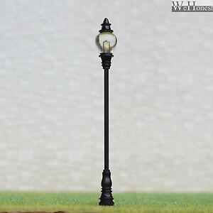 4 x o scale led street light model railroad train lamp posts antique image is loading 4 x o scale led street light model railroad mozeypictures Images