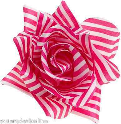 60063 Pink Dolly Hair Clips Barrettes Bows Sourpuss Retro Pinup Kawaii Anime New