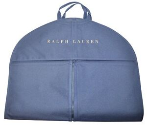 f3a7e0d07632 New Polo Ralph Lauren Blue Nylon Garment Suit Travel Bag Zip 24x40 ...