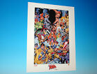 Uncanny X-Men Anniversary Lithograph by artist Joe Quesada Marvel Comics