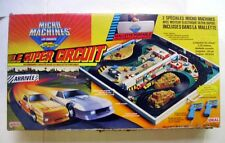 RARE Vintage 1980s Galoob Micro Machines CIRCUIT ROUTIER ELECTRIQUE - SLOT CARS