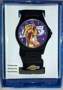 KOBE-BRYANT-L-A-Lakers-NBA-GAME-TIME-Wristwatch-NEEDS-BATTERY-1-case-50-pieces