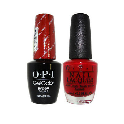 """OPI GelColor Soak-Off Gel Polish & Nail Lacquer """"Amore At The Grand Canal GCV29"""""""
