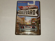 HOT WHEELS BOULEVARD CORVETTE C6R REAL RIDERS MOC VERY COLLECTIBLE