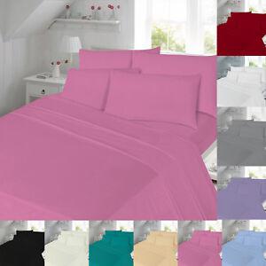Vente-Flanelle-Drap-Housse-Double-King-Size-Bed-Unique-Super-Thermal-Coton