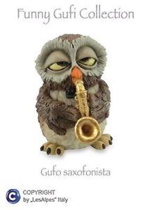 Owls-Les-Alpes-Owl-Saxophonist-Resin-014-92446-Owl