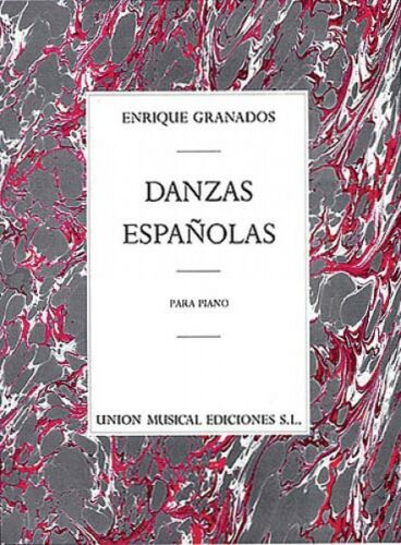 Danzas Espanolas Complete For Piano Solo Sheet Music 014013152 Enrique Granados