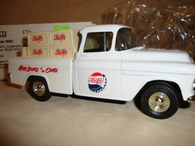 Ven a elegir tu propio estilo deportivo. Pepsi Cola más rebote 1955 1955 1955 Chevy Cameo Pickup   7506  Venta en línea precio bajo descuento