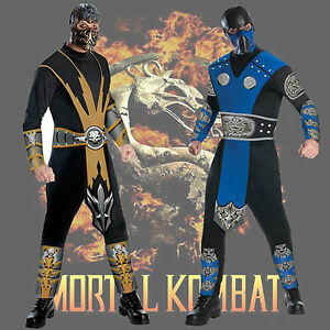image is loading adult video game mortal kombat scorpion sub zero