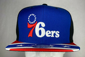 Mitchell-and-Ness-NBA-Philadelphia-76ers-Stars-and-Stripe-Snapback-Hat-Cap-New