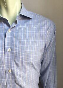 Brooks Brothers Shirt, Westport Plaid, L (16-1/2, 33), Regent Slim Fit, EUC