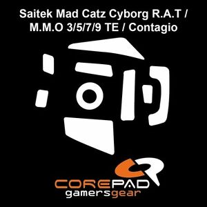 Corepad-Skatez-Saitek-Mad-Catz-Cyborg-R-A-T-3-4-5-6-7-8-9-Ersatz-Mausfuesse