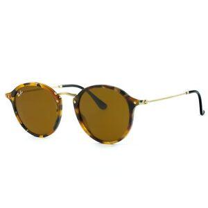 eba80e4f4cf Ray-Ban Round Fleck Brown Classic B-15 Sunglasses - RB2447 11 60 for ...