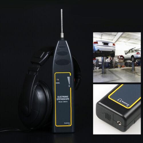 Electronic Stethoscope Pipe Leak Detector Earphone Detection Equipment 100~10kHz