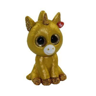 2 inch Golden Unicorn Mystery Chaser TY Beanie Boos Mini Boo Series 2 Figure