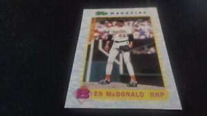1990 Topps Magazine #TM15 Ben McDonald - Baltimore Orioles - HOF - NR-MT
