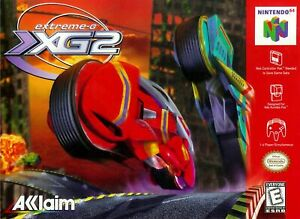 Extreme G-2 XG2 Nintendo 64 N64 Game Used