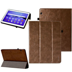 new style 5a8b7 92fbe Details about Premium Leather Cover Huawei Mediapad M3 Lite 10,1