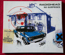 RADIOHEAD digipack cd single NO SURPRISES Thom Yorke promo sticker Italy