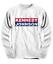JFK campagne shirt président John F Kennedy LBJ élection à Manches Longues Sweat