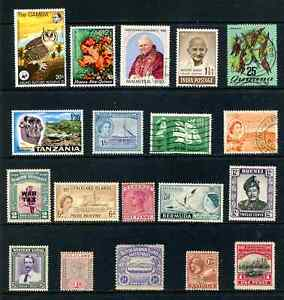 Selection - British Commonwealth - Higher Value - Cat £143 +Mixed Era (Lot 1428)