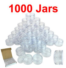 1000 Packs 10 Gram/10ML High Quality Cream Cosmetic Sample Clear Jar Containers