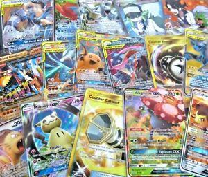 Pokemon-Tarjeta-Lote-de-100-Tarjetas-de-TCG-oficial-Ultra-Raro-incluido-GX-ex-Mega-Holos