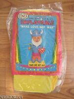 VINTAGE 1970'S MAKE LOVE NOT WAR INFLATABLE~VIKING~EXTREMELY RARE~NIP