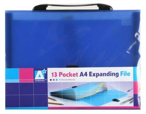 A4 Expanding Files x 24 Wholesale