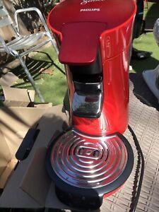 Philips SENSEO Viva Café 1450W Machine à Café à Dosettes - Rouge Hd6564
