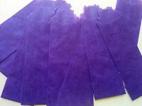 Purple Wax Paper Envelope Bags, Medium, 25mm, 600pcs/bx