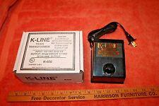 NOS K-Line Train Transformer K-950 in Box Input: 120 Vac 50/60HZ