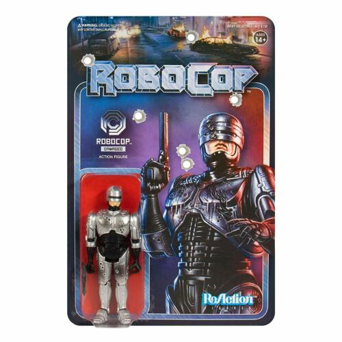 RoboCop Battle Damaged Robocop Reaction Figure Super 7