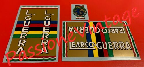 Learco Guerra kit decalcomanie//adesivi//adesivi//stickers