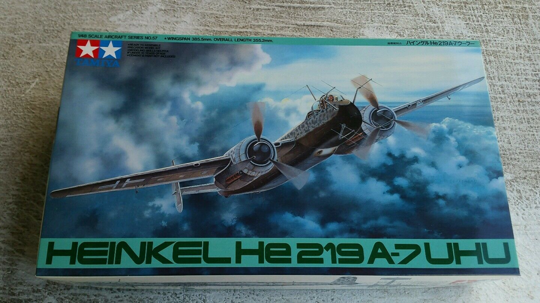 Tamiya 1 48 Heinkel He-219A-7 Uhu