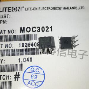 5PCS-Fairchild-MOC3021-Random-Phase-Optoisolators-Triac-Driver-Output-DIP-6