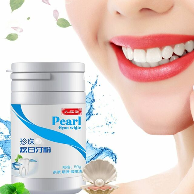 1 Bottle 50G Magic Natural Teeth Whitening Mouth Cleaning Oral Good Teeth Care v