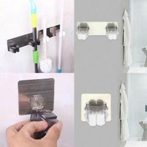 Mop-Wall-Mounted-Organizer-Holder-Brush-Broom-Hanger-Storage-Rack-Kitchen-Tool