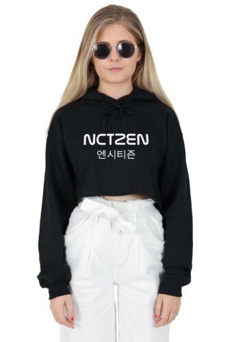 Nctzen Crop Sweat à capuche Sweat à Capuche Top Fashion kpop NCT Fandom Taeyong