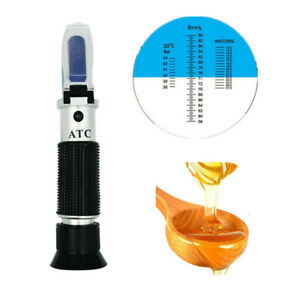 Easy-use-Honey-Quality-Tester-refractometer-58-90-Brix-12-27-Water-38-43-Baume